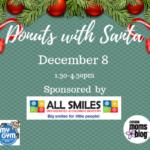Donuts with Santa – 2018