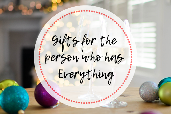 Holiday Wish List Gifts For The Person Who Has Everything