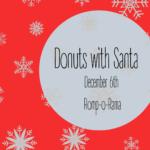 Donuts with Santa – 2019