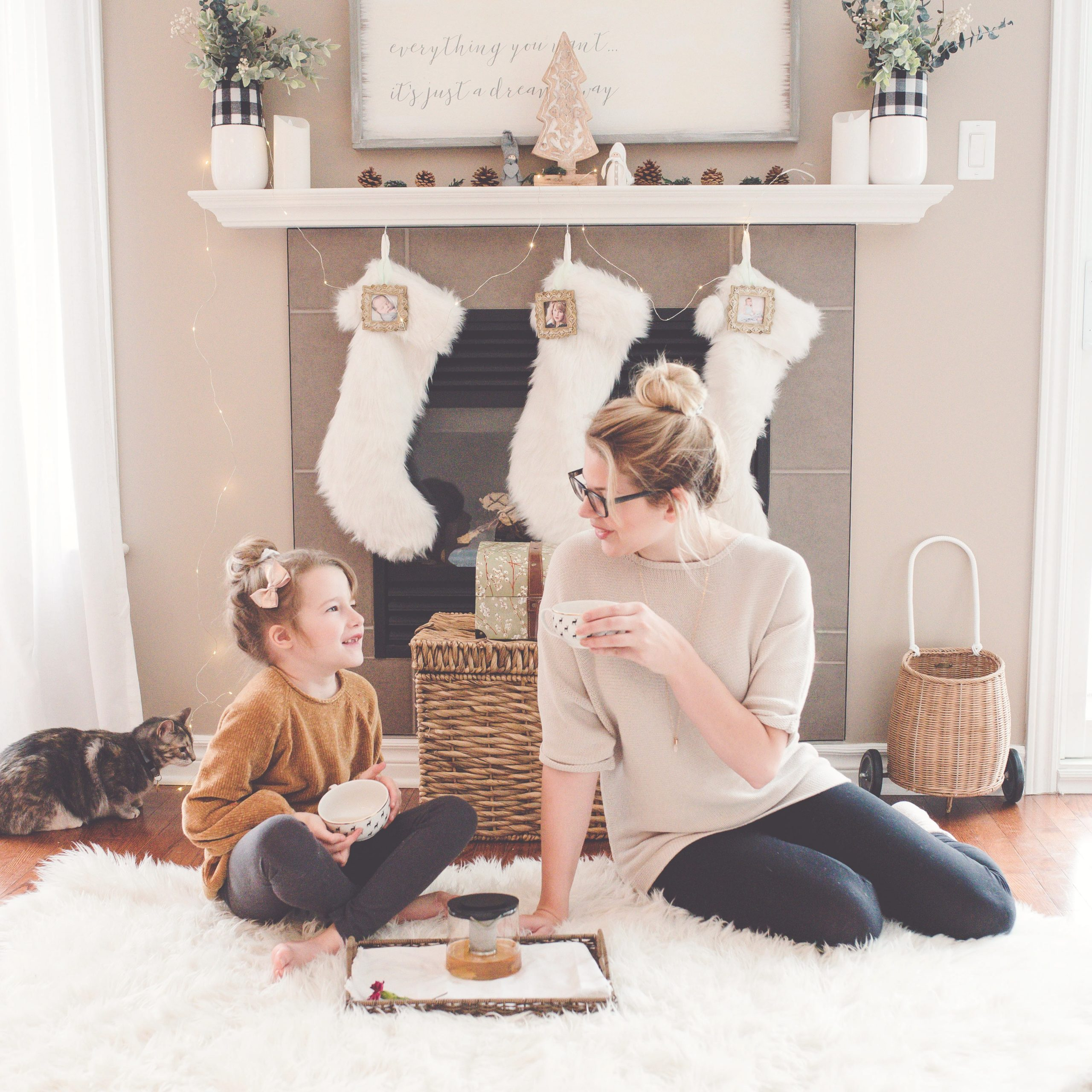 mom with girl on floor | why i love being a girl mom