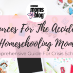 Resources For The Accidental Homeschooling Mom