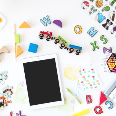 child's learning toys with tablet | homeschooling resources