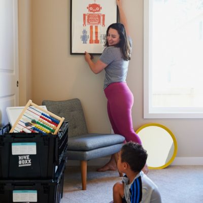 mom at home with son in living room | Tips From A Homeschooling Mom