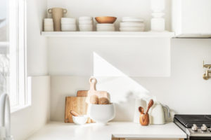 view of a clean white kitchen Organizational Tips From A Pro: Learn How To Organize Like A Boss