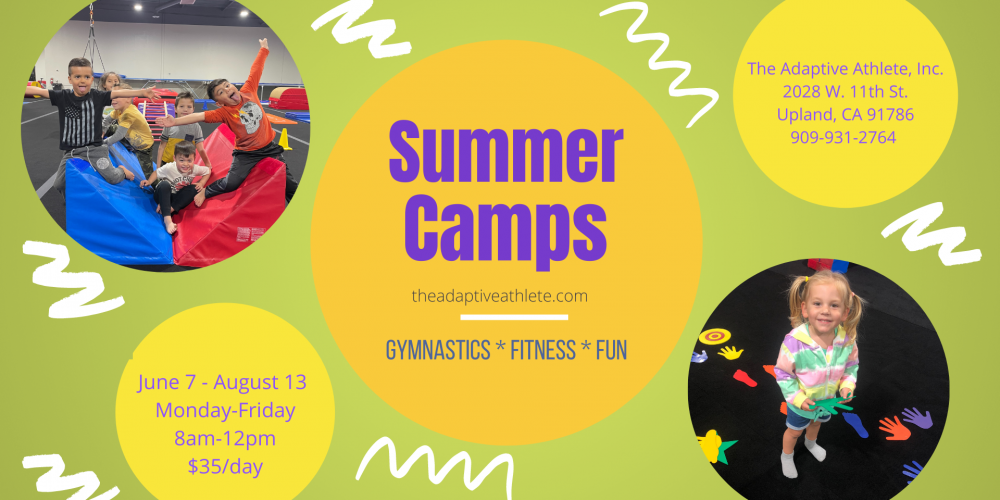 Summer Camps at The Adaptive Athlete, Inc.